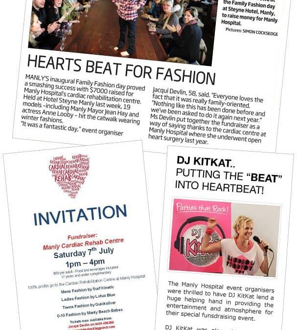 Manly Hospital fashion fundraiser at Steyne Hotel